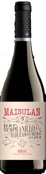 Bodegas Maisulan 6 Meses 2018 DOCa Rioja Alavesa